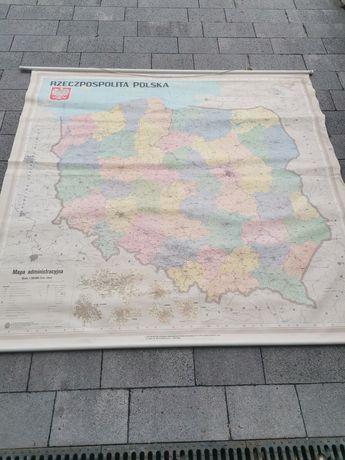 Stara mapa Rzeczpospolita Polska