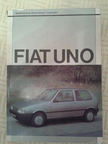 """FIAT UNO """"sam naprawiam"""", podręcznik naprawy naprawy wydanie 1994 rok"""