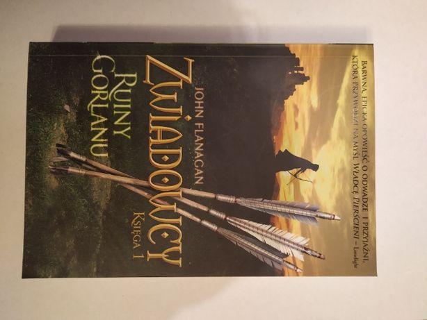 NOWA książka Zwiadowcy Ruiny Gorlanu Księga 1 John Flanagan