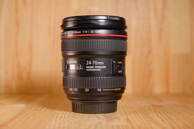 Canon EF 24-70mm f/4L IS USM / Отправляем без предоплат