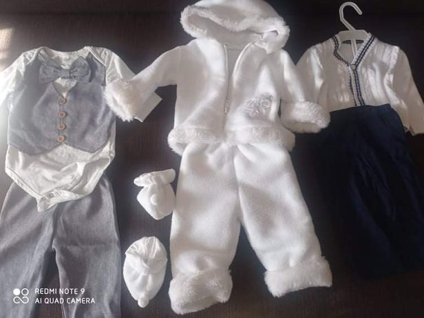 Ubranka dla chłopca 1-3miesiace