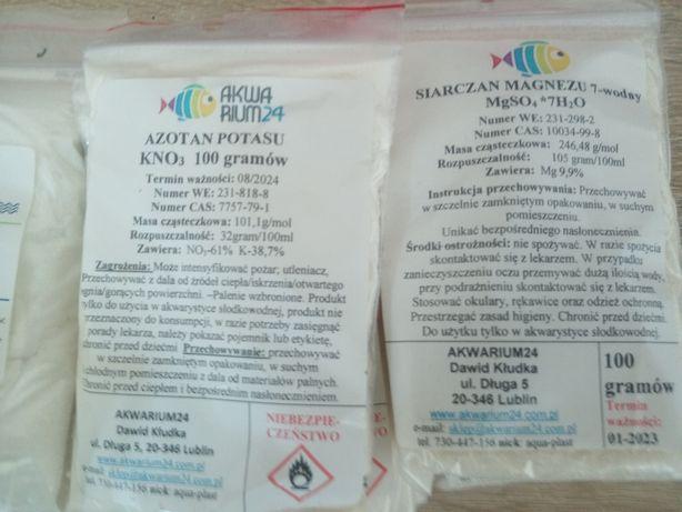 Nawozy do akwarium Makro, mikro, potas, żelaza, azot