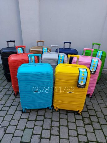 CARBON 2020 Туреччина валізи чемоданы сумки на колесах
