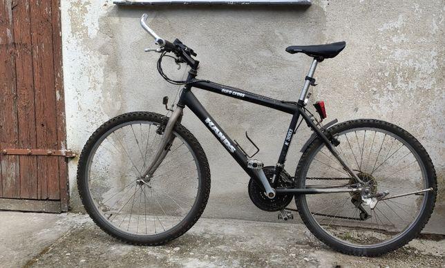 Rower czarny 18 cali