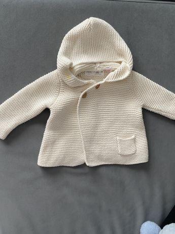Sweterek rozpinany Zara