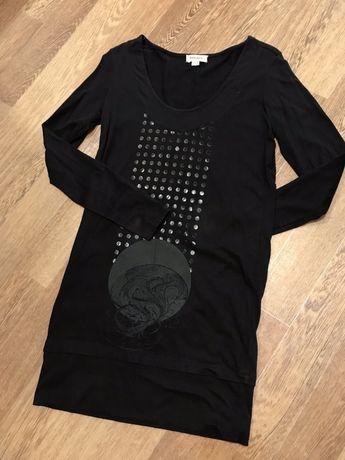 Dirsel платье трикотаж черное платье diesel оригинал xs