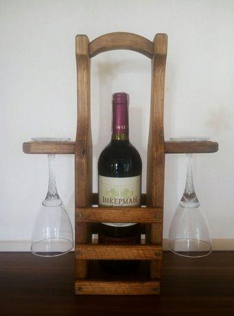 Подставка для вина подарочная полка