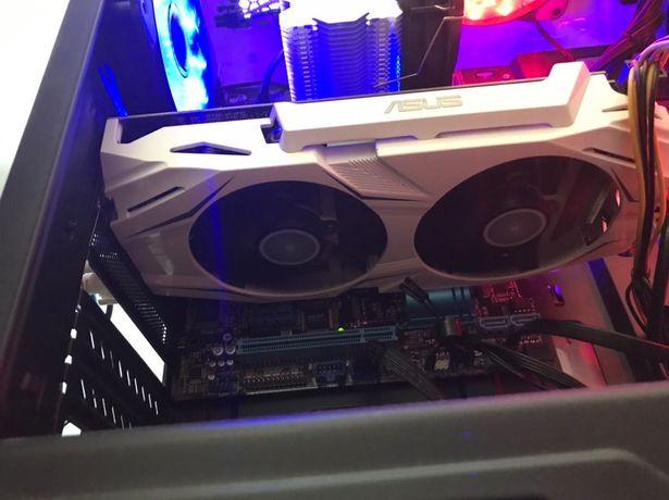 Відеокарта GTX 1060 6 gb Asus Dual Гарантія