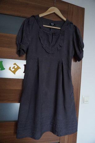 Sukienka z kieszeniami 100 % wiskozy rozmiar 36