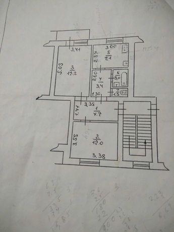 Продам 2х кімнатну квартиру.