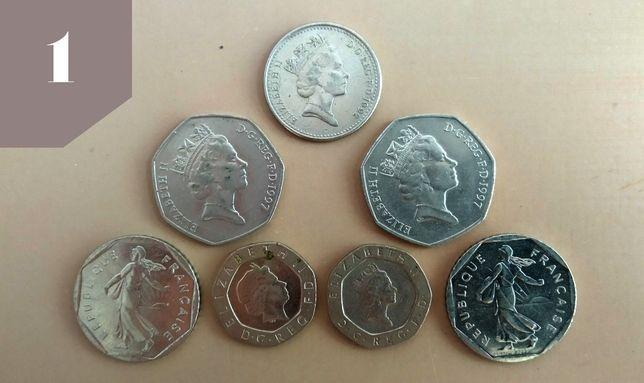 Монети сша польша