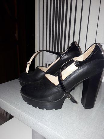 Туфли кожа женские