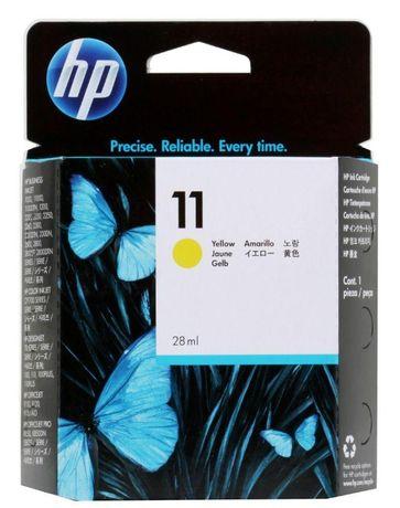 Картридж HP 11 DesignJet 2200/2250/cp1700 28 мл Yellow