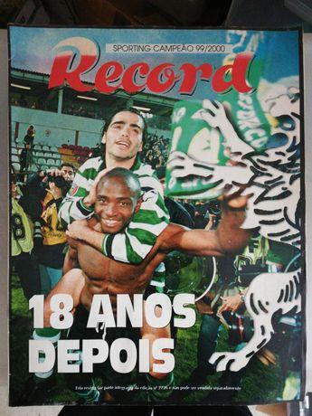 Revista Record Sporting Campeão 99/2000