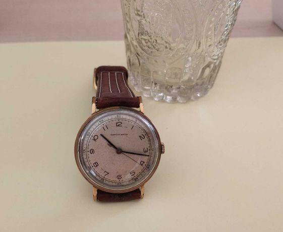 Relógio antigo Terrôte raro, mecanismo de corda made in Swiss