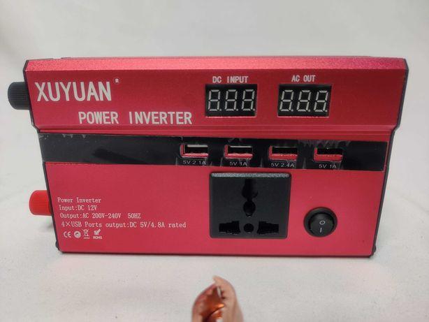 [NOVO] Inversor / Conversor Potência 3000W [12V para 220V] - Corrente
