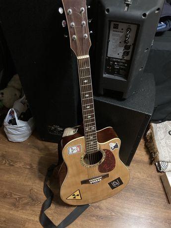 Електро акустическая гитара SX