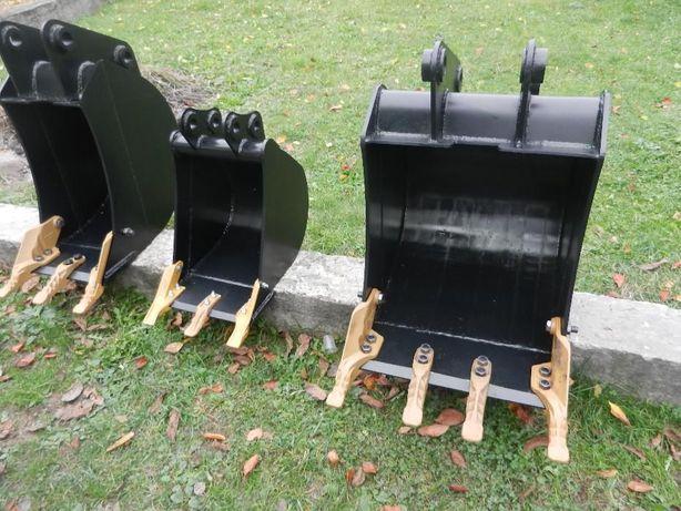 Ковші для екскаваторів Kubota, Hitachi, Bobcat, JCB, CAT, Volvo