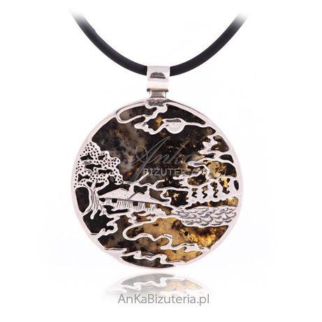 ankabizuteria.pl rozaniec na szyje lancuszek Biżuteria srebrna z bursz