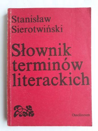 Slownik terminów literackich; Stanisław Sierotwiński
