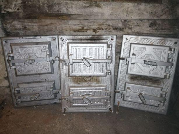 drzwi do pieca kaflowego zestaw
