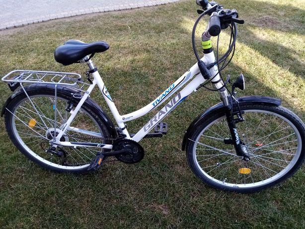 Rower 26' biały Grand