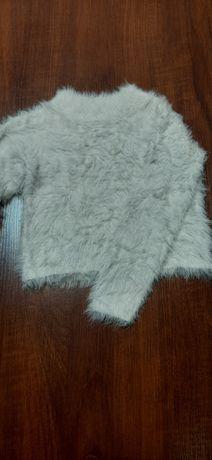 Biało-szary sweterek H&M
