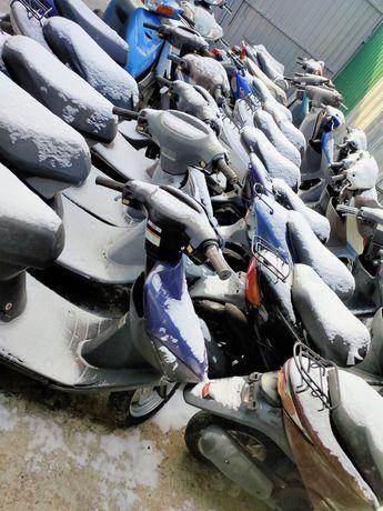 Скутера оптом с Японии, в наличии мопеды, Suzuki, Honda, Yamaha Dio