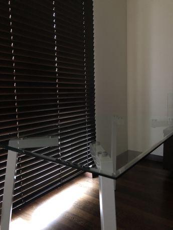 Stół szklany blat 110x70