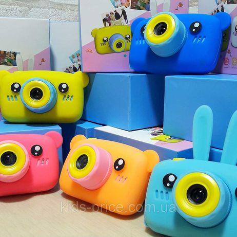 Детский цифровой фотоаппарат Мишка. Фото-камера для детей