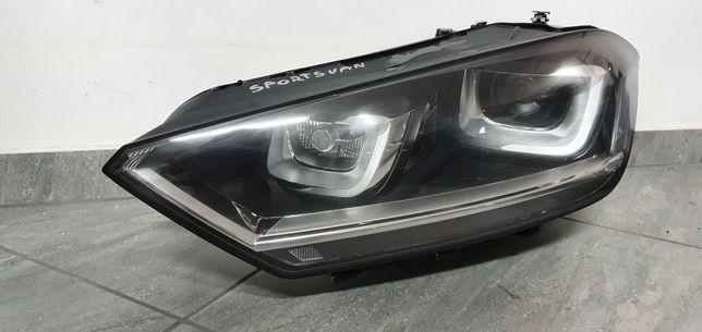 VW SPORTSVAN Xenon reflektor lampa lewa IDEALNA