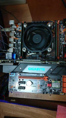 X99+Xeon E5 2620+ 16GB DDr 4 + Cooler