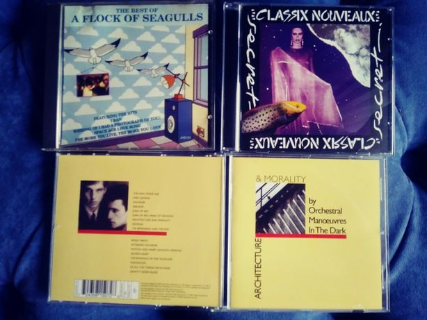 NEW ROMANTIC-NEW WAVE-SYNTH-POP -płyty CD-OMD, A Flock of Seagulls ...