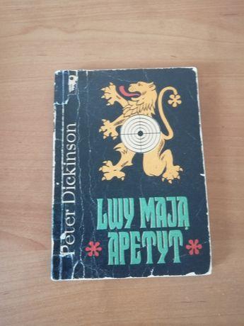 Książka Lwy mają apetyt Peter Dickinson