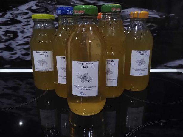 syrop z miety 380 g, baza na lemoniadę