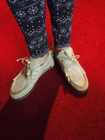 Фирменные туфли Zara