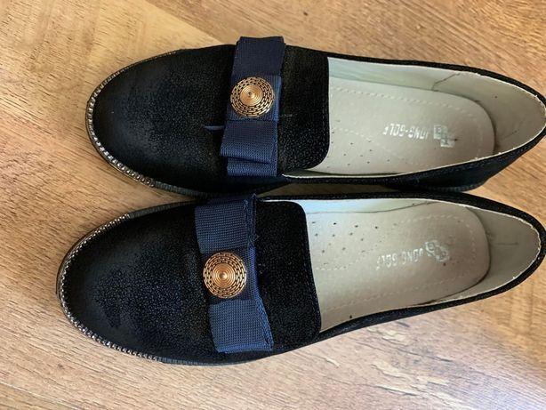 Туфли для девочки школьные 30р стелька 19,5 см