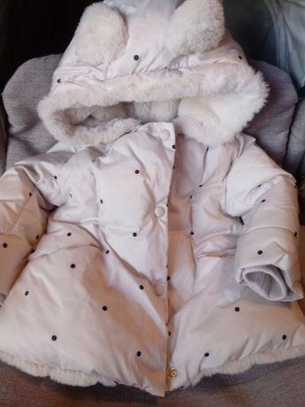 Продам куртку Zara на девочку 6-9 месяцев