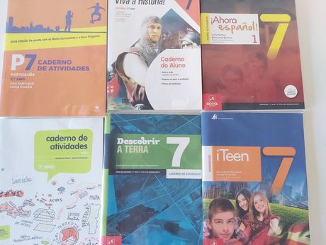 Cadernos atividades 7ano