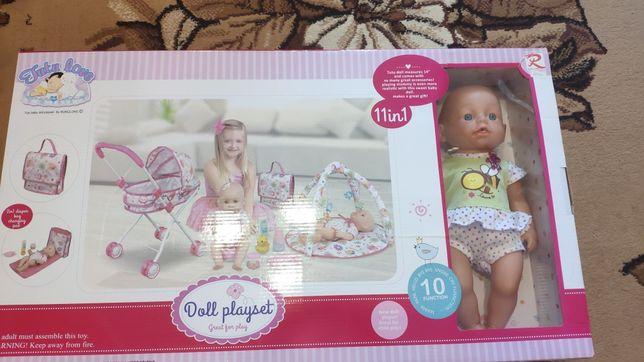 Подарок НГ Кукла бебиберн , которая уметь есть, пить и ходить в туалет