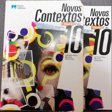 Novos Contextos 10 - Manual de Filosofia 10ºAno