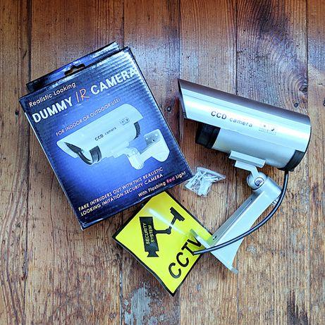 Наружная уличная камера видеонаблюдения муляж PT 1100 обманка камеры
