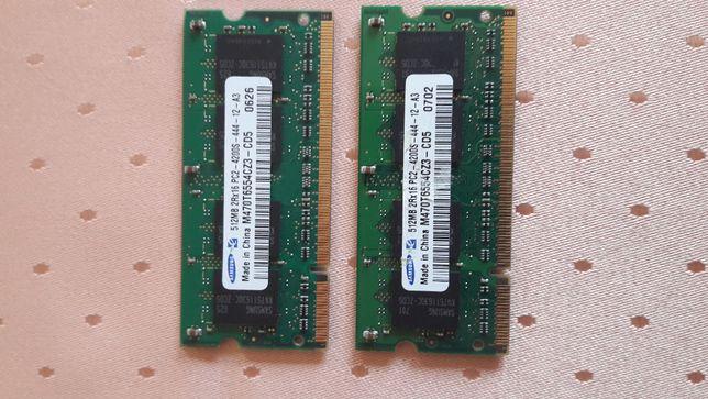 Pamięć RAM DDR2 PC-2 -2 sztuki 512MB