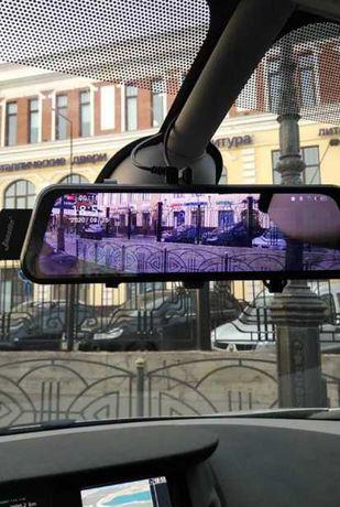 Видеорегистратор зеркало, fullHD, сенсорный Dvr L-1027
