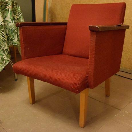 Fotel vintage, lata 80., do renowacji