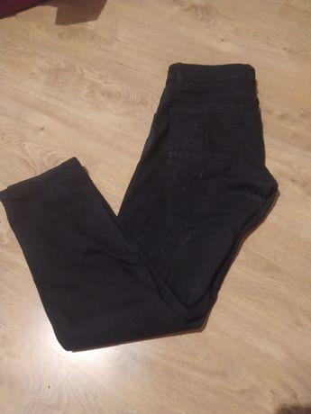 Czarne jeansy, męskie