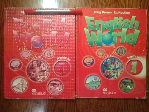 Підручник та робочий зошит з англійської мови