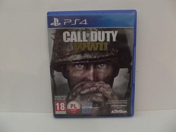 Call Of Duty WW II PS4 po polsku lombard