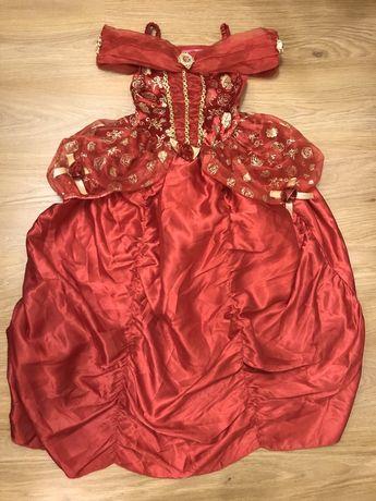 Карнавальное платье принцессы Бель на 5-6 лет Disney