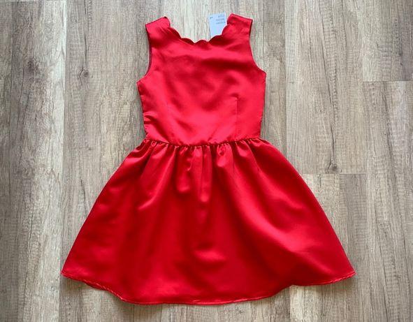Атласне плаття H&M 8-9років (134см)